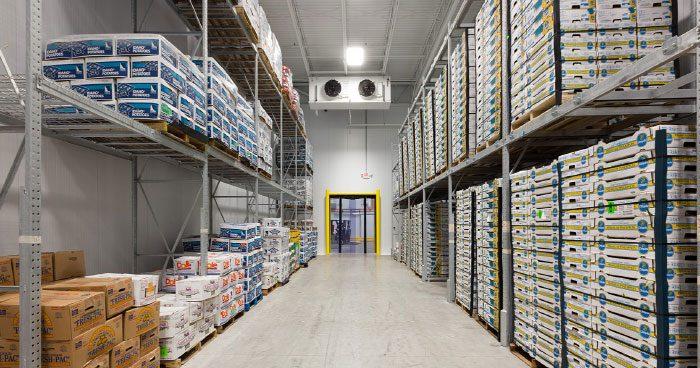 آموزش نگهداری محصولات در سردخانه